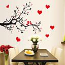 zidne naljepnice zidne naljepnice, stil ljubav ptica stablo grana PVC zidne naljepnice
