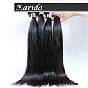 ペルーストレートバージンヘア、4個/ロット送料無料トップ品質ペルー人の人間の髪の毛