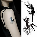 2016 novih slikarskih vodootporni privremene vilenjaci tetovaža paste, 3pcs