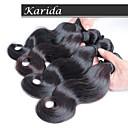 10-30inch 4 kusy malajské tělo vlna vlasy, 100% malajské panna vlasy