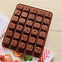 bakeware silikon u obliku engleske abecede pečenje kalupi za čokoladu