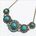 Novi dolazak fashional vruće prodaje visoko kvalitetne retro dragulj cvijet ogrlicu