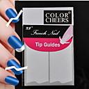 180pcs profesionalna izrada obrazac nail art alat (5x36pcs) # 14