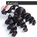 3 ks / lot velkoobchod volné vlna peruánský vlasy tkaní, velkoobchod panna peruánský vlasy