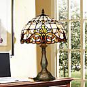 Pracovní lampy Více stínidel Tiffany Sklo
