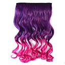 ミックスカラーのボディ波合成太い髪の拡張子ヘアクリップオン