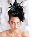 ruční výroba svatební péřová vlasy okouzluje headpieces fascinators 003