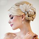 ruční výroba svatební péřová vlasy okouzluje headpieces fascinators 007