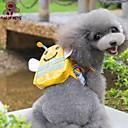 ペットの犬のためのpets®かわいい黄色の蜂の形状のバックパックの楽しみ(各種サイズ)