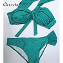 Dámské Jednobarevné Nylon/Polyester Bikiny Podprsenka s kosticemi