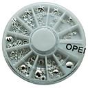 1 ks slitina stříbra kov hřebík hvězdice skořápka jiný tvar kolo kolo populární pro dámy Nový design