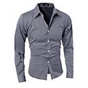Ležérní Dlouhé rukávy - MEN - Casual Shirts ( Bavlna )