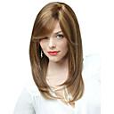 capless visoke kvalitete prilično srednje ravno mješavina boja kose perika