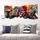 zooyoo ®1457 oblíbené super hrdina Wall Decal giftavengers film charakter samolepky
