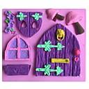 Kuća gljiva u obliku Fondant kolač čokoladna silikonska kalupa kalup, dekoracija alati bakeware