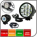 Svjetiljke za glavu / Svjetla za bicikle / Prednje svjetlo za bicikl LED Cree XM-L T6 BiciklizamVodootporno / Može se puniti / Otporan na