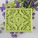 正方形の花状の石鹸金型は、金型フォンダンケーキチョコレートシリコーン型、装飾ツール耐熱皿を月餅