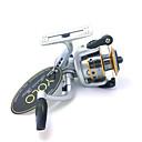 Mulinete de Pescuit Spinning Reels 4.8:1 3 Kugličnim ležajevima zamjenjiviMamac Casting / Ice ribolov / Vrtložno / Slatkovodno ribarstvo