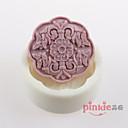 květ ve tvaru mýdlo plísně Mooncake forma fondant dort čokoládový Silikonová forma, výzdoba nástroje Pečení