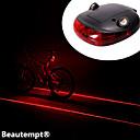 自転車用ライト / 後部バイク光 LED / Laser サイクリング 防水 / 耐衝撃性 単四電池 ルーメン バッテリー サイクリング-照明