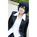 Cosplay Wigs Blue Exorcist Cosplay Ink Blue Short Anime / Video Igre Cosplay Wigs 35 CM Otporna na toplinu vlakna Male / Female
