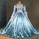 Tema haljina steampunk®18th stoljeća plave i bijele Marija Antoaneta razdoblje vjenčanica performanse