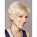 優雅なショートストレート人間の髪の毛のキャップレスかつらバージンレミーモノトップの毛のかつら