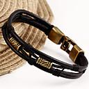 革の魅力のbraceletsfashionのブレスレットの女性のヨーロッパスタイルの革ヴィンテージブレスレット