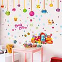 Zvířata / Botanický motiv / Romantika / Zátiší / Módní / květiny / Fantazie Samolepky na zeď Samolepky na stěnu , PVC50x70x 0.1cm