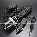 LED svjetiljke LED 4.0 Način 1200 Lumena Vodootporno / Može se puniti / Otporan na udarce / Hitan / štrajk oštrica / Taktički Cree XM-L T6
