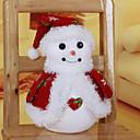 """38 * 17cm / 15 * 6.7 """"slatka božić snjegović zavjese Xmas Tree Hotel dom Prozor ukras poklon"""