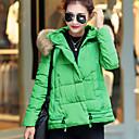 Ležérní Stojací límec - Dlouhé rukávy - ŽENY - Coats & Jackets ( Bavlna )
