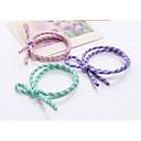 Kosa nositelji pramčani konop elastične gume kose bend kravata kose za djevojke žene / kosu multi-boji 10pcs / lota