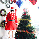 3 v 1 Vánoční kostýmy pro ženy fantazie anime šaty si ujít Santa Claus kostýmy žena Šaty plesové cosplay