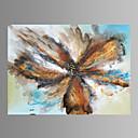 Fantazie / Botanický motiv / Rozmarné / Moderní / Pop Art Na plátně Jeden panel Připraveno k Pověste , Horizontální