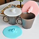 Poklopac 1pc slatka konj dizajn za zaštitu od prašine kreativni silikonska cup cup pokrov (slučajni boja)