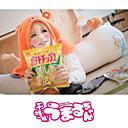 Inspirovaný Himouto Cosplay Anime Cosplay kostýmy cosplay Mikiny Jednobarevné / Tisk Pomarańczowy Dlouhé rukávy Přehoz