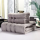 バスタオルセット - 竹繊維100% - 染糸 - towel:34*76cm   Bath towel:70*140cm
