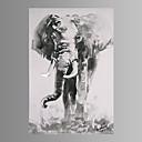 Životinja / Fantazija / Moderna Canvas Print Jedna ploča Spremni za objesiti , Vertikalno