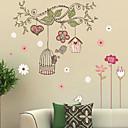 Vánoce / květiny / Prázdninový / Krajina Samolepky na zeď 3D samolepky na zeď , pvc 50x70x0.1cm