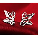 Sitne naušnice Moda Slatka Style Plastika Animal Shape Rukav leptir Pink Jewelry Za Vjenčanje Party Dnevno 2pcs