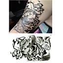 Vánoce / Nový rok zvíře řada skvělých lebky velikost vzorku 22 * 16 * 0.1cm tetování samolepky dočasné tetování (1ks)