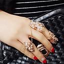 Midi prsteny imitace Diamond Slitina Módní Stříbrná Zlatá Šperky Svatební Párty Denní Ležérní 1ks