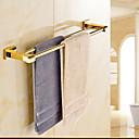 Tyč na ručníky Ti-PVD Na ze´d 60*12*4cm(23.6*4.7*1.6inch) Mosaz Moderní