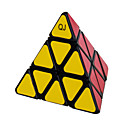 Qiji® スムーズなスピードキューブ 3*3*3 スピード マジックキューブ 黒フェード / アイボリー プラスチック