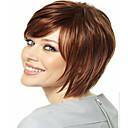 newproduct smeđa kratka ravna kosa syntheic vlasulja