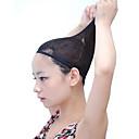 快適な黒のかつらキャップは、特別なウィッグネットアンチスリップが固定かつらのために髪をアクセサリーかつら