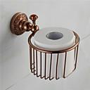 Držač toaletnog papira , Tradicionalni Antikni bakar Zidna montaža