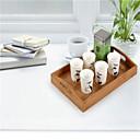 Vysoce kvalitní bambusové nádobí úložný box přihrádka kuchyň úložný box