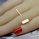 Prstenje Party / Dnevno / Kauzalni Jewelry Legura Žene / Muškarci / Par Klasično prstenje 1pc,Prilagodljive Zlatna / Srebrna